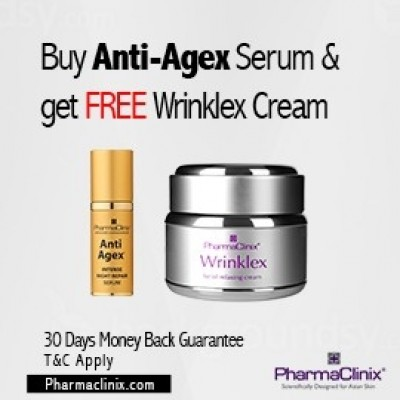 Anti Agex Serum with FREE Wrinklex